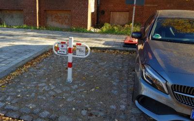 Parkbügel vergessen: Kleines Versehen – große Wirkung