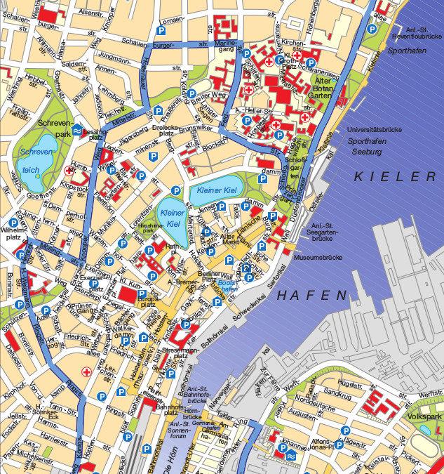 Freies Parken für Elektroautos in Kiel